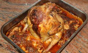 Пълнено печено пиле