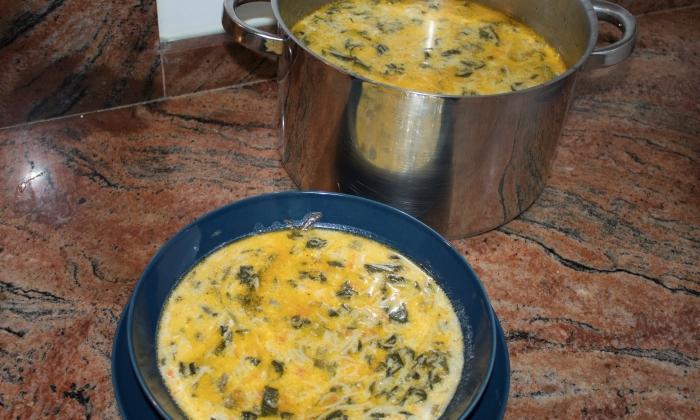 Спаначена супа