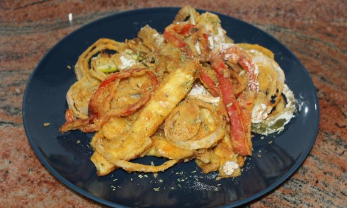 Хрупкави зеленчуци на фурна