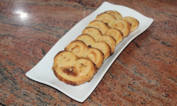 Захарни палмички с бутер тесто