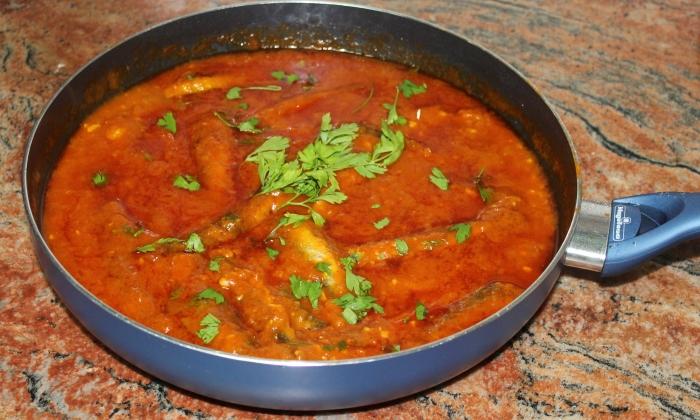 Сардина в доматен сос