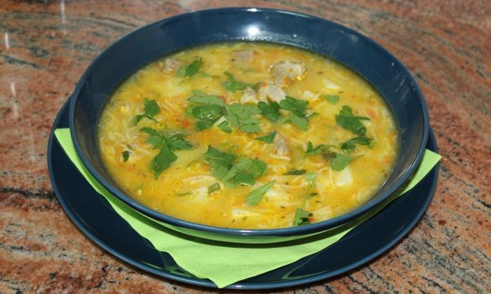 Супа със свинско месо