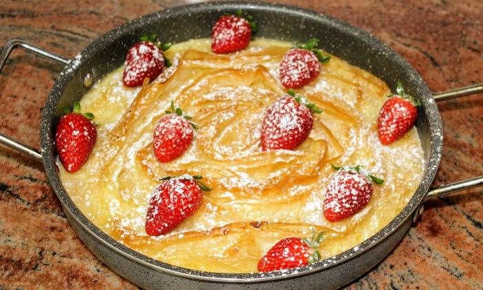 Торта с кори за баница