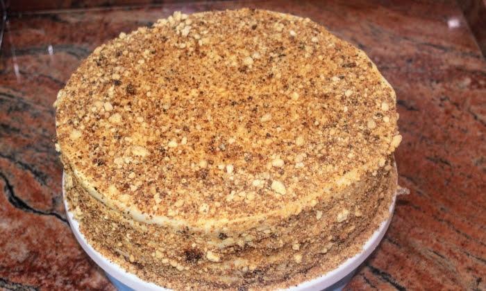 Лесна торта с крем