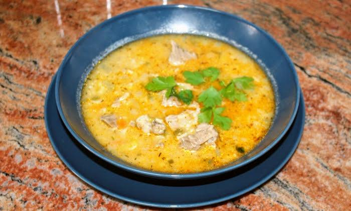Супа със свински джолан