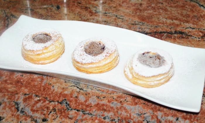 Кошнички с шоколад, бърз и лесен десерт