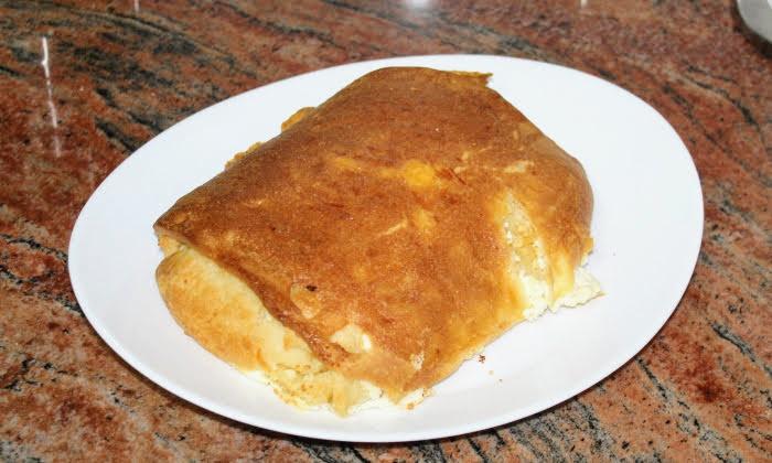 Гюзлеми със сирене на фурна
