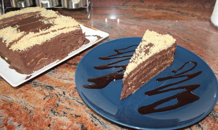 Домашна торта Гараш, лесна и без брашно
