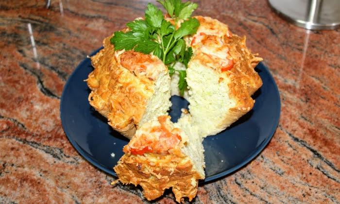 Солен кекс с тиквички