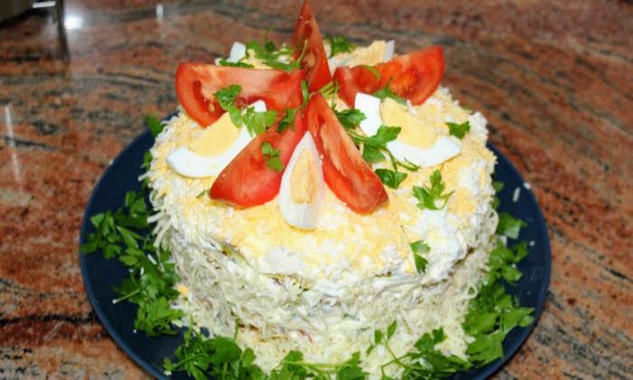 Две много вкусни рецепти за солени торти