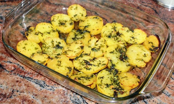 Апетитни картофи на фурна