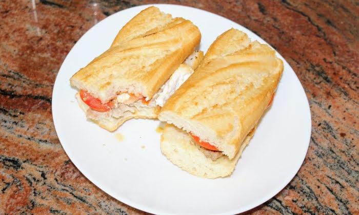Бърз сандвич на скара, перфектната комбинация за перфектен вкус
