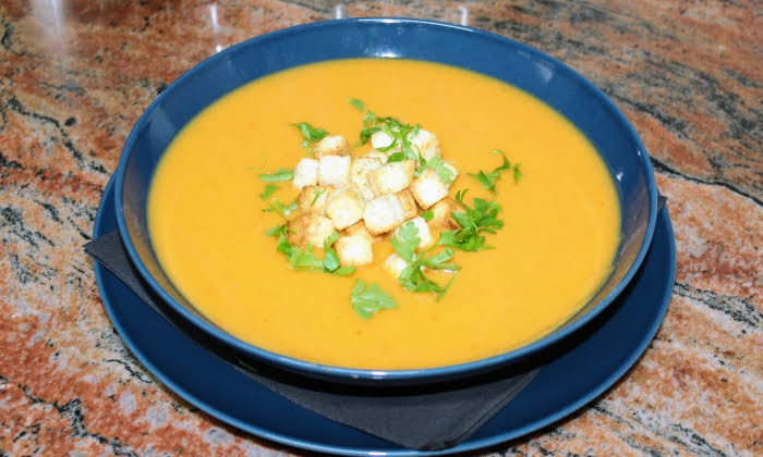 Зеленчукова крем-супа
